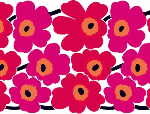E' primavera e penso subito a…Fiori! Belli, grossi, colorati, come quelli di Marimekko e non solo…